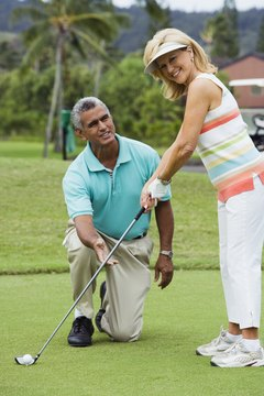 Many PGA club pros are excellent instructors.