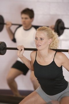 Isometric weightlifting causes blood pressure to rise.