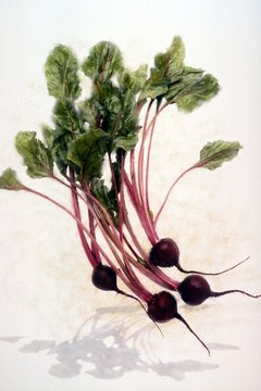 Beet greens are an excellent source of beta-carotene.