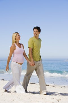 Expectant moms should carefully monitor their heart rates.