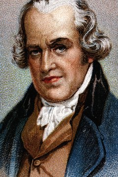 James Watt perfected the steam engine that drove the Industrial Revolution.