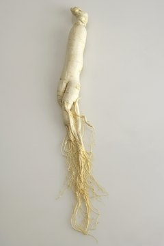 American ginseng is a root that may provide health benefits.