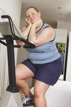 Exercise helps burn calories for weight loss.