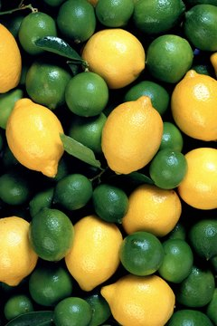 Lemons and limes counter the effects of iron-depleting nutrients.