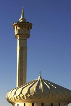 The Grand Mosque in Dubai.