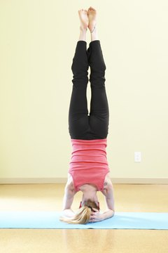 Headstand is a new perspective and an advanced physical challenge.