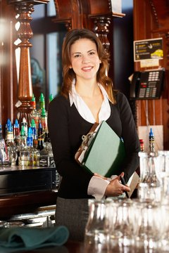Managers make sure that bar operations run smoothly.