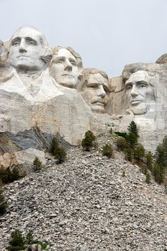 Mount Rushmore is home to four of our nation's most honored presidents.