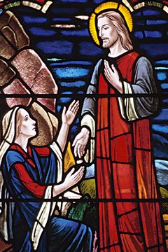 Southern Baptists believe Jesus appeared to Mary after the Resurrection.