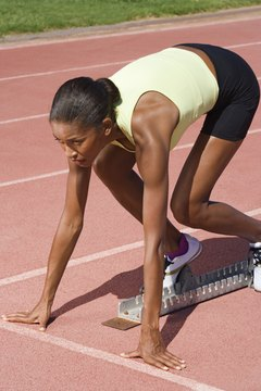 Practicing starts for the 400 meters, with or without blocks, is essential.