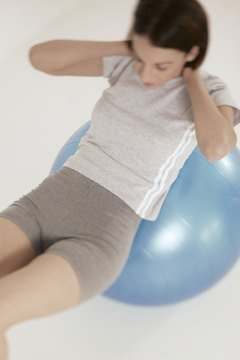 Research backs the efficiency of the stability ball crunch.