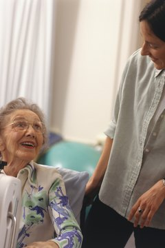 Restorative aides help with rehabilitation and maintaining life skills.