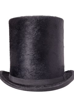 Every gentleman in 1800 wanted a beaver felt hat.