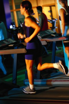 Mix some jogging with your walking to make treadmills more fun.