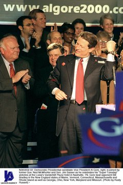 Al Gore suffered an electoral defeat in 2000 despite receiving more popular votes than George W. Bush.