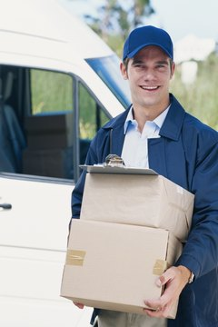 Some manufacturers provide distributors with vehicles to deliver their products.