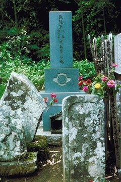 Graves are visited at designated times.