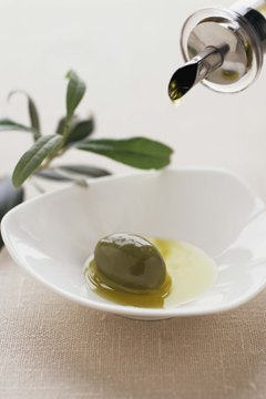 Olive oil is a healthy choice for cooking oil.