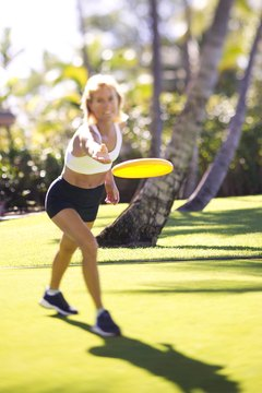 Ultimate Frisbee is a full-body workout that burns calories quickly.