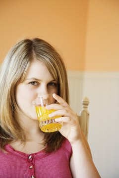 Orange juice may provide heart-health benefits.
