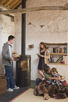 Wood furnaces are most efficient when used for space heating and as a backup heat source.