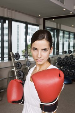Develop cardiovascular fitness with shadow boxing.