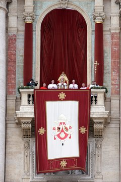 Pope Benedict XVI, the 265th Pope in the Church's history, delivers a Christmas message to Catholics in 2012.