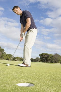 Practice putting to shave strokes off your game.