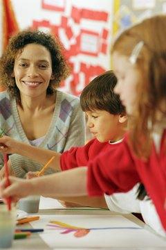 Teaching kindergarten requires specific college courses.