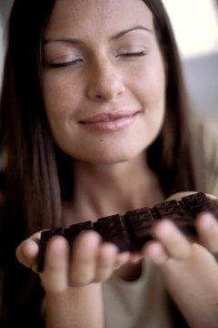 Dark chocolate may be good for your heart.