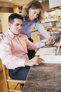 Married couples have the option of filing joint or separate tax returns.