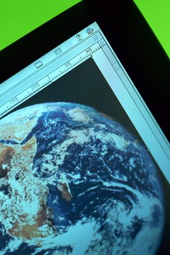 Satellite imagery enables you to virtually explore the Earth.