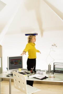 Balancing a book on your head may not be enough to counter years of slouching.