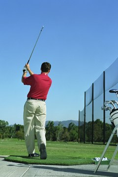 Mastering golf takes lots of focused practice.