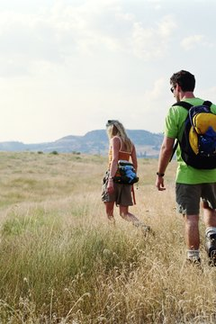 Hiking is a low-stress date idea perfect for shy girls.