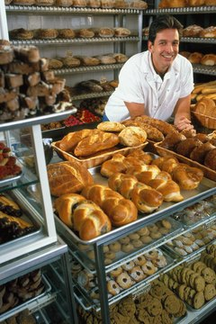 baker in bakery