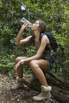Rest your calf muscles at night to prepare for another day of hiking.