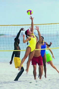 Look great in a swimsuit while dominating the court with strong shoulders.