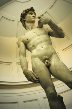 Michelangelo's David is an example of the ancient Greek tradition's continuing popularity