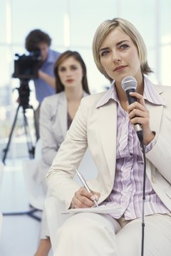Get in-front or behind the camera for corporate video or TV production courses.