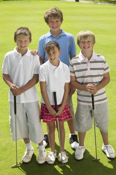 Choosing junior golf clubs for children must focus on the child's size and weight to ensure skill development and enjoyment of the game.