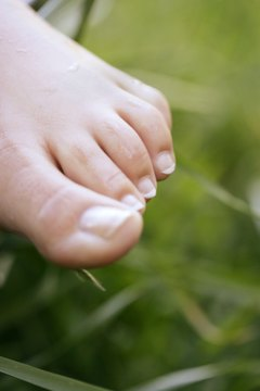 Massage foot cream into your feet, toes and toenails to keep them soft and supple.