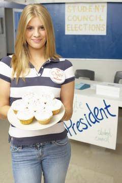 Cupcakes may persuade the voters, but they're not deductible.