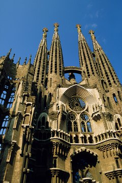Medieval people built grand cathedrals to express their beliefs.