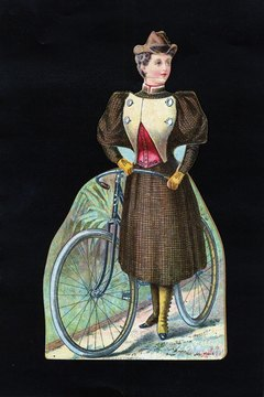 Bicycling gave women of the 1890s a new sense of freedom.