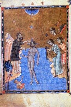 Baptism of Jesus Christ.