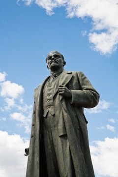 Vladimir Lenin's successful leadership of a Marxist Revolution in 1917 set off fears of communism in America.