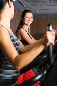 Frequently riding an elliptical machine will help you burn a high number of calories.