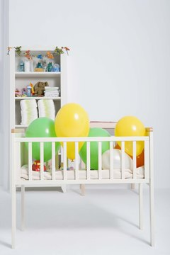 Save on expensive items like baby furniture by buying secondhand.