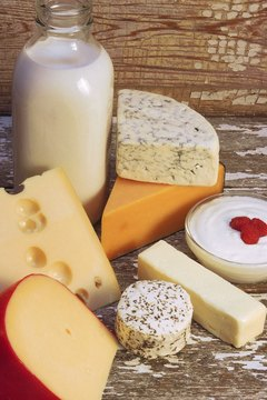 Dairy products provide essential nutrients.